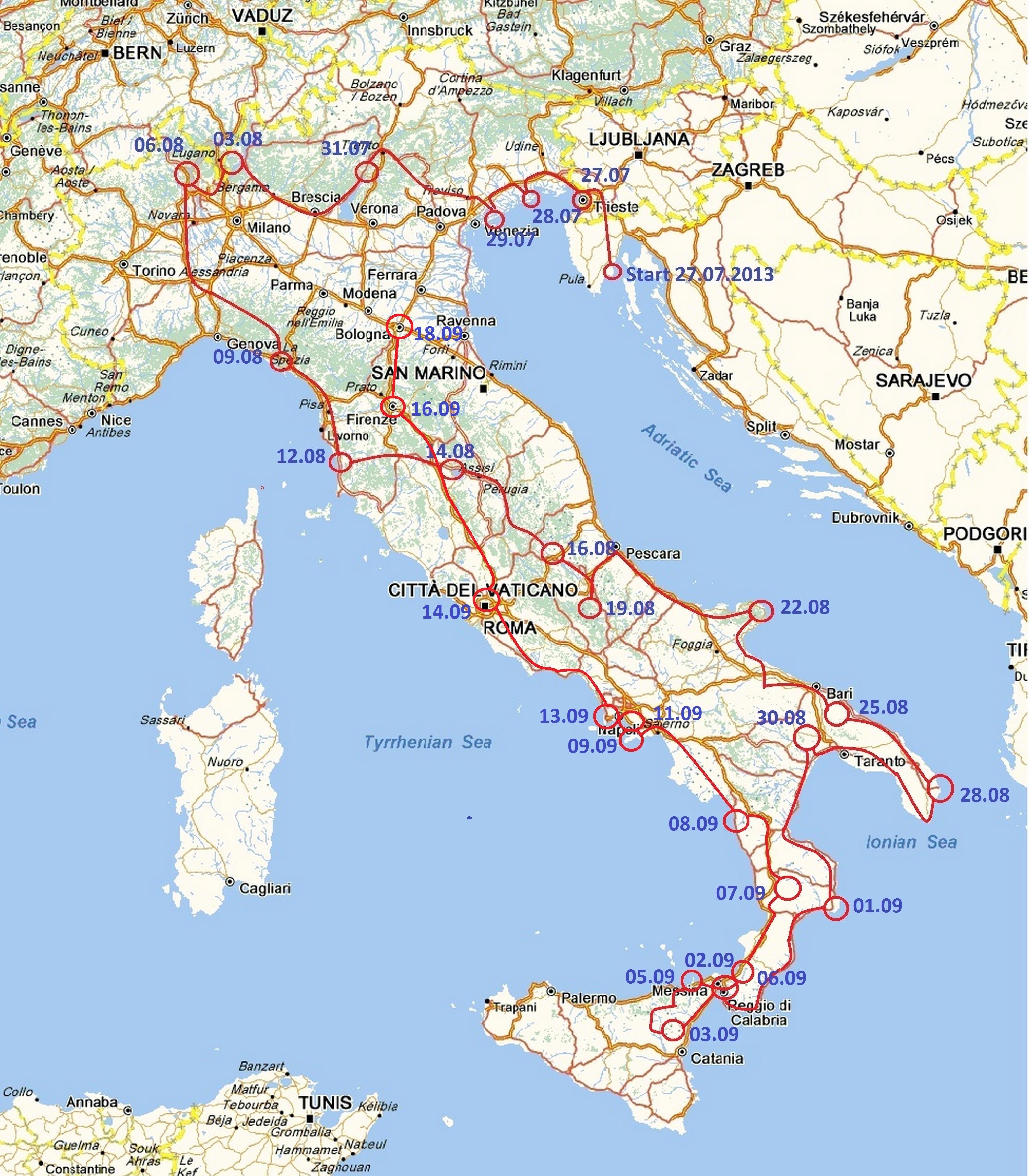 Firenze Og Bologna Ole S Blog