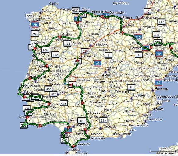 Camino Del Rey Og Extremadura Ole S Blog